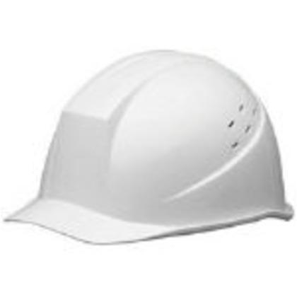 ABS製ヘルメット通気孔付白   SC-11BVRA-KP-W