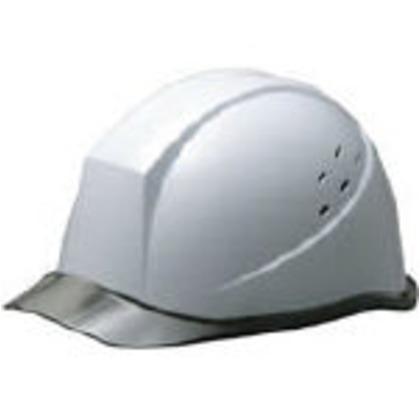 バイザー型通気孔付ヘルメットホワイト   SC-11PCLVRA-KP-W