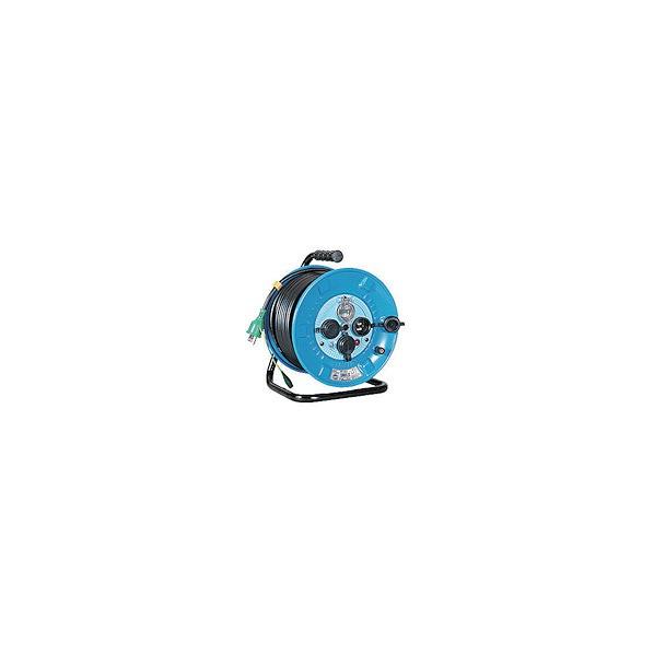 日動 防雨型漏電遮断器付電工ドラム2 NPW-EB23