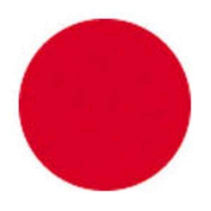 緑十字 マーキング-18B マーキング用ステッカー青18mmΦ100枚組アート紙 208306