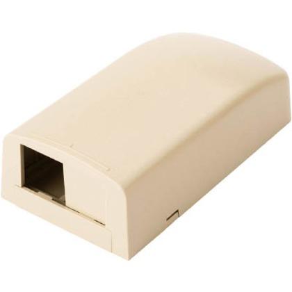 パンドウイット 光ファイバー・マルチメディアアウトレット2個口アイボリー CBX2EI-AY
