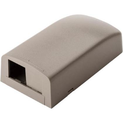パンドウイット 光ファイバー・マルチメディアアウトレット2個口ライトグレー CBX2IG-AY
