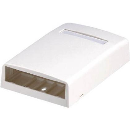 パンドウイット 光ファイバー・マルチメディアアウトレット4個口オフホワイト CBX4IW-AY