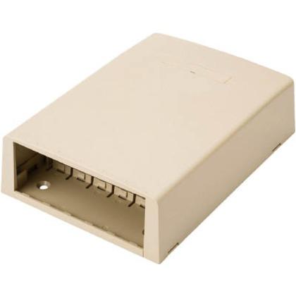 パンドウイット 光ファイバー・マルチメディアアウトレット12個口アイボリー CBXF12EI-AY