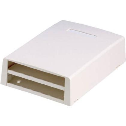 パンドウイット 光ファイバー・マルチメディアアウトレット12個口オフホワイト CBXF12IW-AY