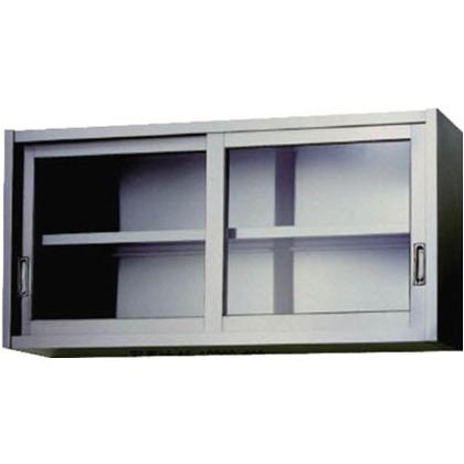 【送料無料】アズマ ステンレス吊戸棚(ガラス戸)1500×300×600   AS-1500GS-600  便利グッズ(文具・OA機器)文具・OA機器
