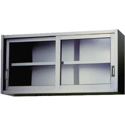 【送料無料】アズマ ステンレス吊戸棚(ガラス戸)1800×300×600   AS-1800GS-600  便利グッズ(文具・OA機器)文具・OA機器