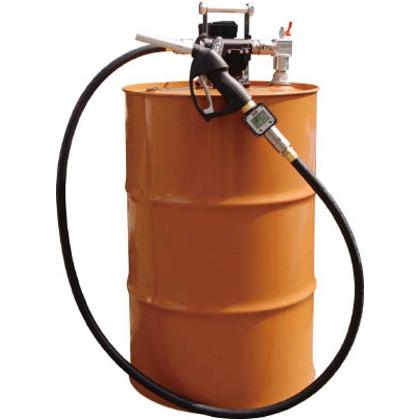 【送料無料】アクアシステム 流量計付電動ドラムポンプ(100V) 灯油 軽油   EVPD-56K24  噴霧器用パーツ・部品類噴霧器