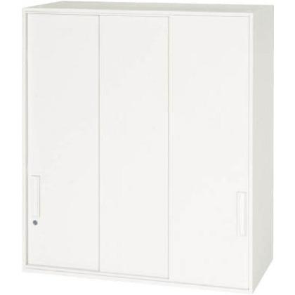 【送料無料】ダイシン 壁面収納庫3枚引戸型上置き専用D400ホワイト   V940-10TS  文具・事務用品文具・OA機器