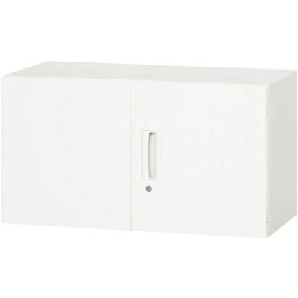 【送料無料】ダイシン 壁面収納庫両開き型上置き専用D450ホワイト   V945-05H  文具・事務用品文具・OA機器