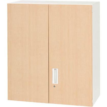 【送料無料】ダイシン 壁面収納庫両開き型上置き専用D450木目柄   V945-10MH  文具・事務用品文具・OA機器