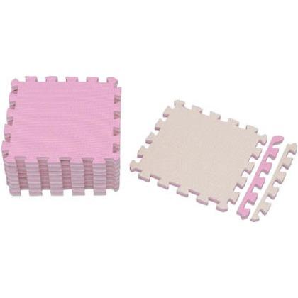 IRIS ジョイントマット30×3018枚ピンク/ベージュ JTMR-318-PN 18枚