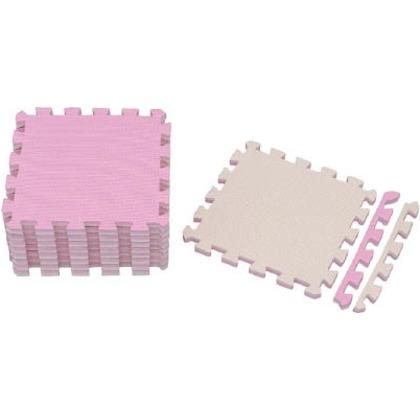 IRIS ジョイントマット30×309枚ピンク/ベージュ JTMR-39-PN 9枚
