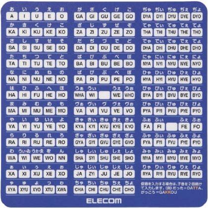 エレコム ローマ字変換対応マウスパッド小 MP-ROMS