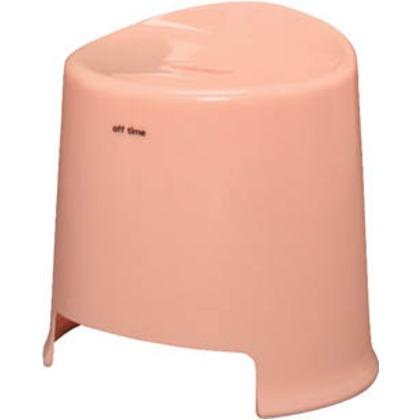 IRIS 35cm風呂いすオフタイム桃 OBI-350-PC