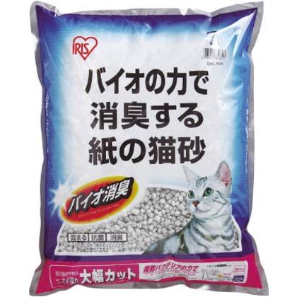 紙の猫砂バイオ消臭7L(1袋入)   ONK-70N 1 袋