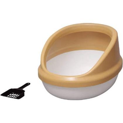 ネコのトイレハーフカバー三毛   P-NE-500-H-MK