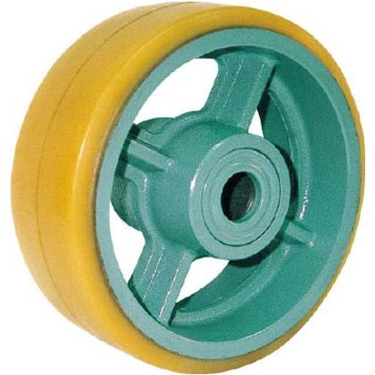 鋳物重荷重用ウレタン車輪ベアリング入UHB360X90   UHB360X90