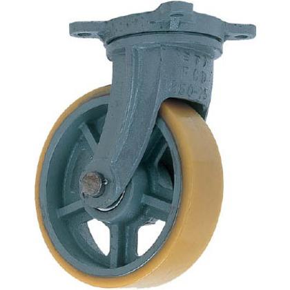 鋳物重荷重用ウレタン車輪自在車付きUHBーg500X130   UHB-G500X130