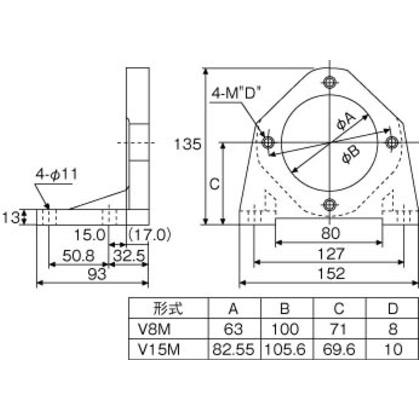 ダイキン ピストンポンプ用フート V15M