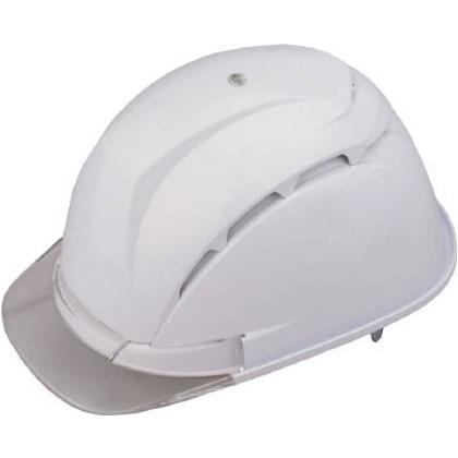 通気孔付きヘルメット白   NO.393F-C-WH