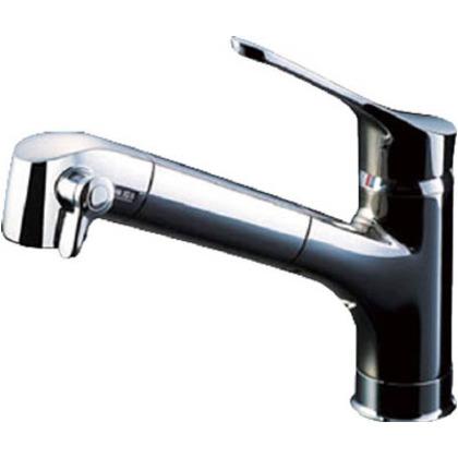 浄水器内蔵シングルレバー混合水栓(オールインワンSタイプ)   JF-6450SX(JW)