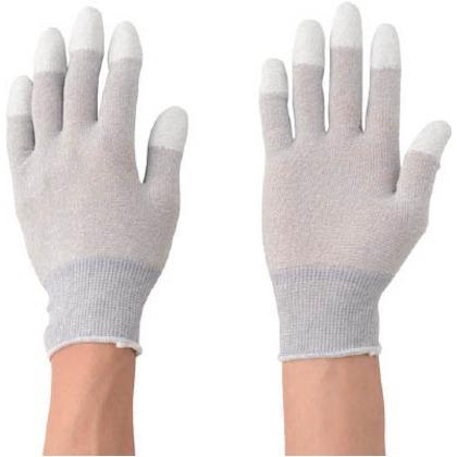 勝星 制電カーボン指先ウレタン手袋10双組L 701L 10双