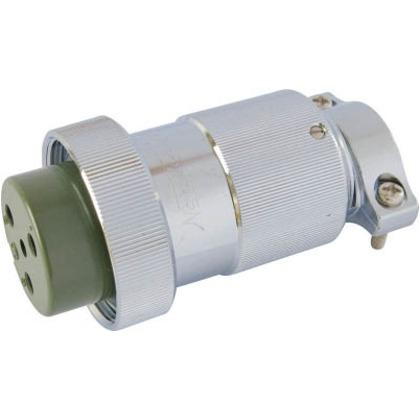 七星 防水メタルコネクタNWPC-40シリーズ6極P20 NWPC-406-P20