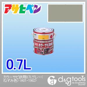 カラーサビ鉄用塗料 グレー(ねずみ色) 0.7L