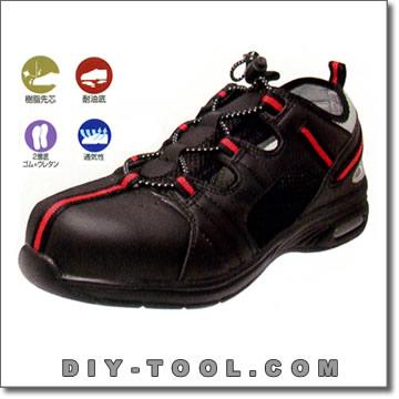 安全靴サンダルセーフティ 黒 24.5cm (SS-BL)