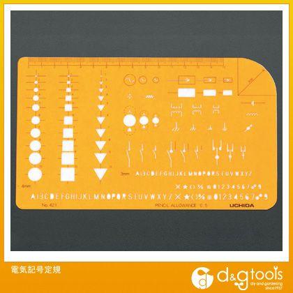 電気記号定規   EA736MA-42A