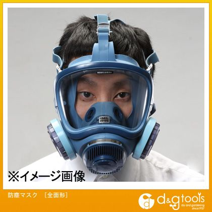 防塵マスク[全面形] (EA800MP-2)