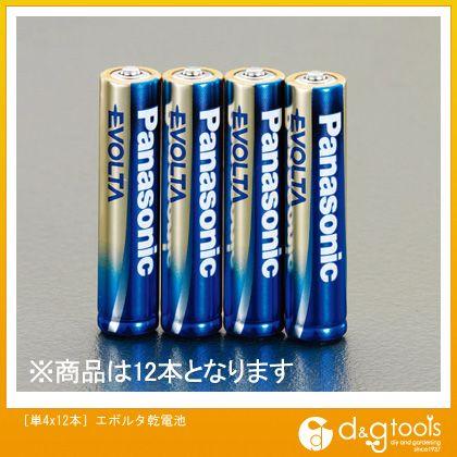 [単4]エボルタ乾電池   EA758YR-4C 12 本