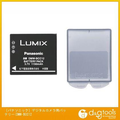 エスコ [パナソニック]デジタルカメラ用バッテリー(DMW-BCC12)   EA759GB-104