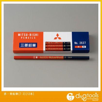 赤・青鉛筆[7:3][12本]   EA765MC-33