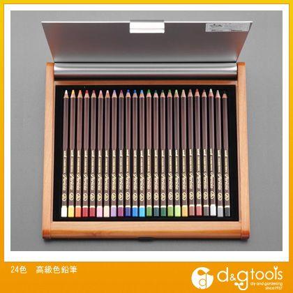 エスコ 24色高級色鉛筆   EA765MC-22
