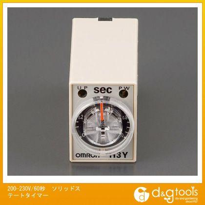 エスコ 200-230V/60秒ソリッドステートタイマー   EA940LE-60