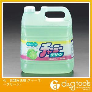 エスコ 4L食器用洗剤(チャーミーグリーン)   EA922E-3