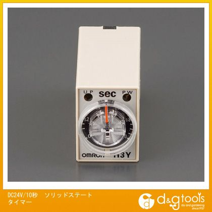 エスコ DC24V/10秒ソリッドステートタイマー   EA940LC-10