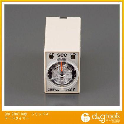 エスコ 200-230V/10秒ソリッドステートタイマー   EA940LE-10