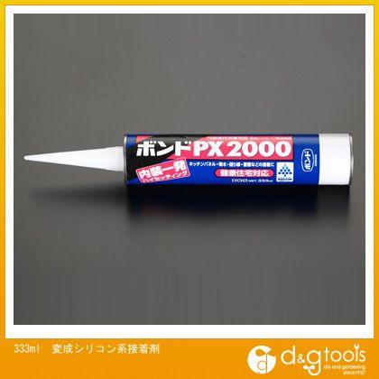 エスコ 333ml変成シリコン系接着剤   EA930AM-20