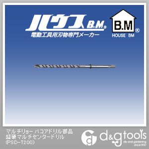 マルチリョーバコアドリル部品 超硬マルチセンタードリル (PSD-T200)