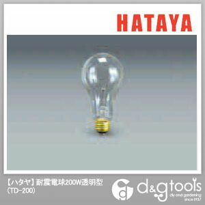 耐震電球200W透明型 (TD-200)