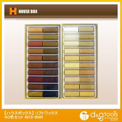 ソフトワックス 40色セット   4019-9040