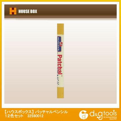 ハウスボックス パッチャルペンシル 12色セット   32590012