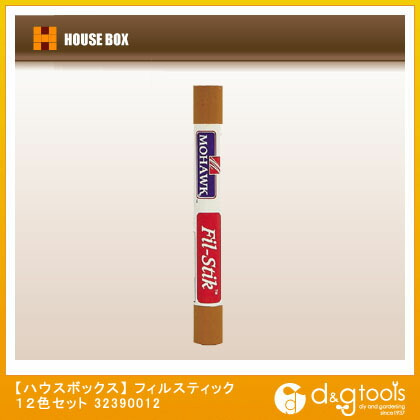 ハウスボックス フィルスティック 12色セット   32390012