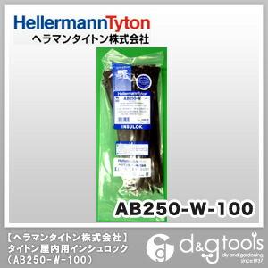 インシュロックタイ ABシリーズ 黒 (AB250-W) 100本