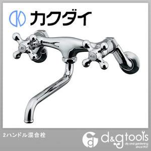 2ハンドル混合栓(混合水栓)寒冷地用   128-105K