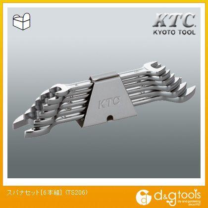 KTCスパナセット[6本組]   TS206 6 本組