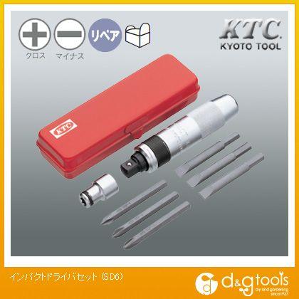 KTC インパクトドライバセット   SD6